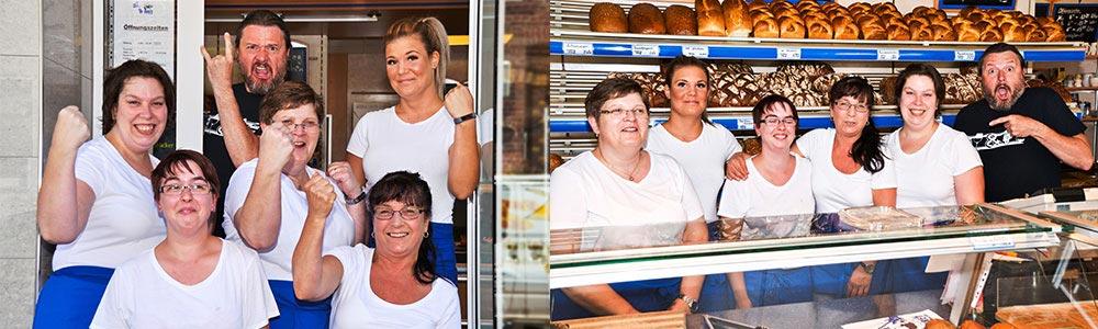 Mitarbeiter bei Bäckerei Bähren